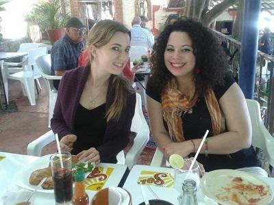 Taylor Sands ITA Alumni mexico lunch