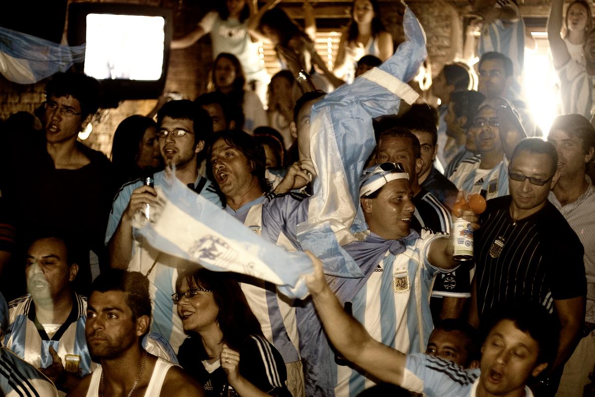 Teaching English Abroad - World Cup Celebrations