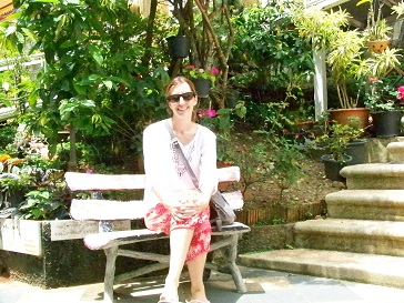 Cynthia Kuzela ITA Alumni at Doi Suthep  Chiang Mai