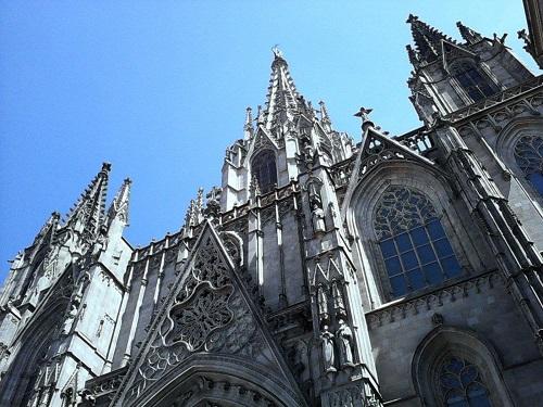 Lauren ORourke ITA Alumni Barcelona church