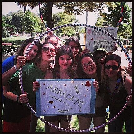 Lauren ORourke ITA Alumni Barcelona students