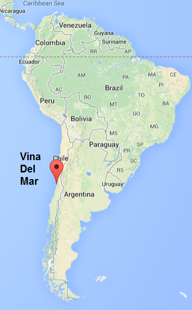 Vina Del Mar English teaching Chile