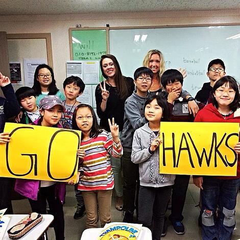 Job opportunities - teaching English in South Korea