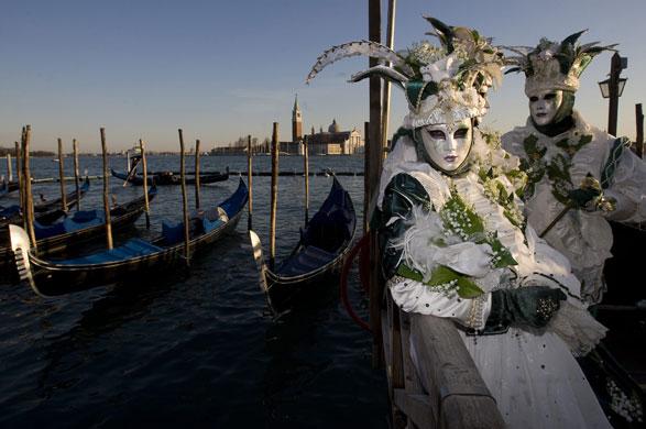Carnival celebrations in Europe