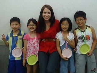 teaching korean children