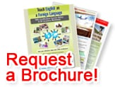 Request a Brochure to Teach English Abroad