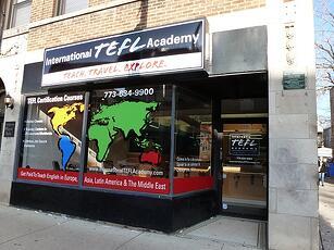 International TEFL Academy Office
