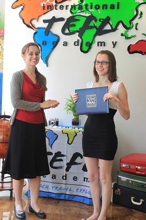 international tefl academy tefl certification graduation