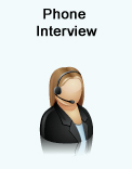 interview over phone in advance to teach english abroad