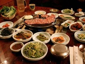 teaching english in korea korean bbq