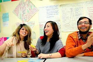 Learn a new language while teaching English abroad