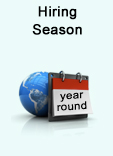Hiring Season year round