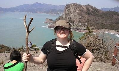 Christie Halstead Korea2