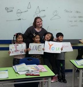 christie halstead teaching english south korea ita alumni