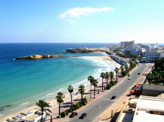 tunisia beach teaching english abroad
