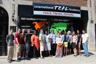International TEFL Academy Chicago Class