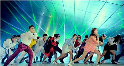 gangnam style teach english korea