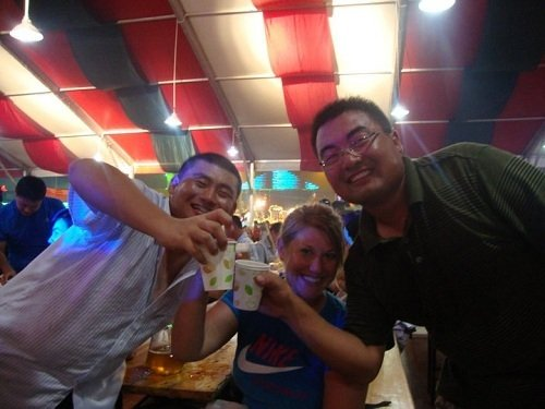 soju and teaching English in Korea
