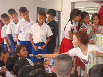 English teaching in Thailand