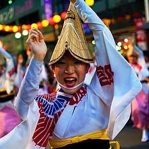 Summer festival japan