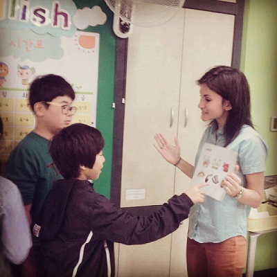 Michelle Garcia English Teaching in South Korea