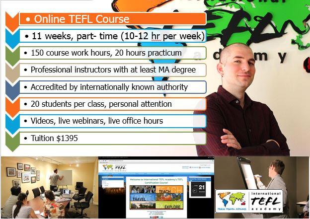 Online TEFL Certification