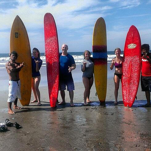 Great Destinations for surfing & teaching English abroad