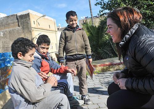 Teaching English in Morocco