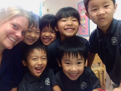 Kirsten Iverson Teaching English in Bangkok Thailand