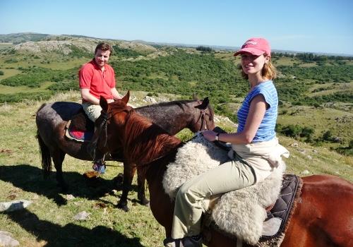 Horse riding in Uruguay