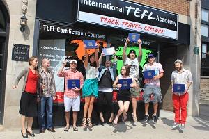 International TEFL Academy Chicago grads aug 2012