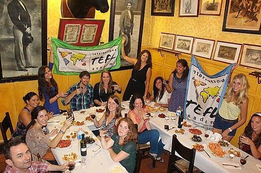International-TEFL-Academy-Barcelona-meet-up-dinner-1