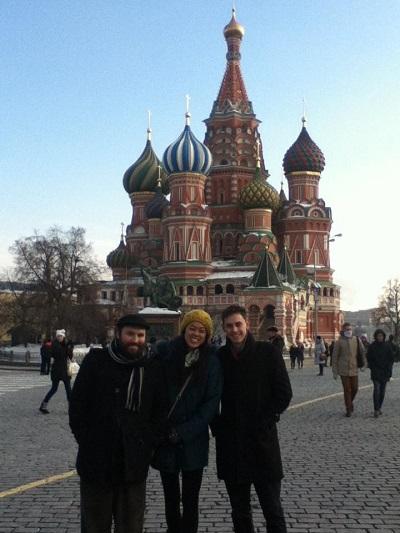 teaching English in Russia