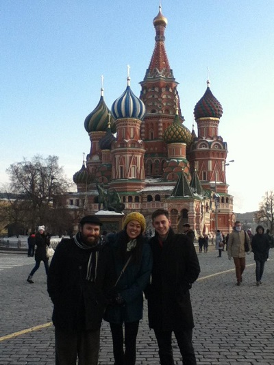 Moscow, Russia English Teaching Q and A with Annie Chen
