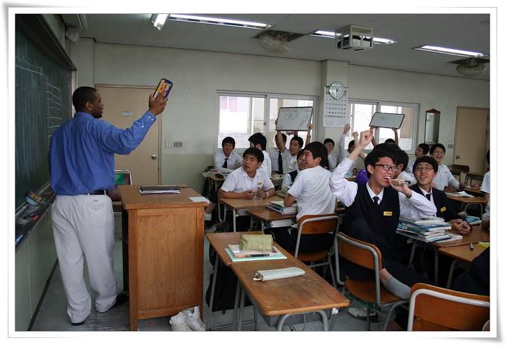 Ethnic minorities teaching English abroad
