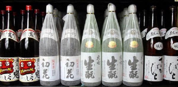 drink sake while teaching English in Japan