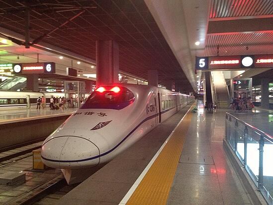 High-speed trains in Asia