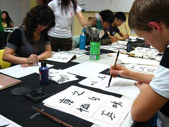 Teaching English in China is a great way to learn Chinese