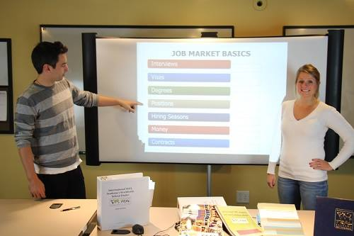 Job placement assistance for teaching English abroad