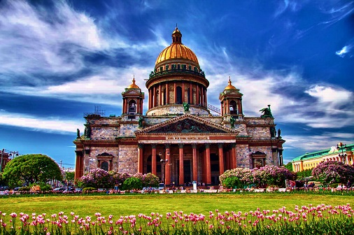 St. Isaacs Cathedral St Petersburg travel around the world