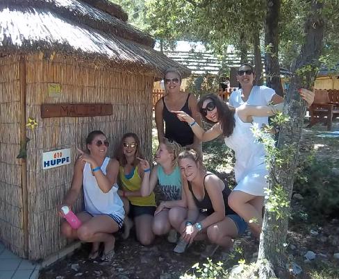 Summer camp English teaching jobs
