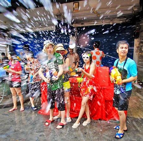 Teaching English in Thailand - Celebrating Songkran