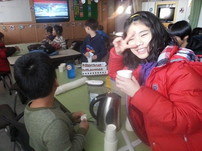 Hannah Lobban Teaching English in South Korea