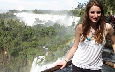 Chloe De Lancie in Argentina
