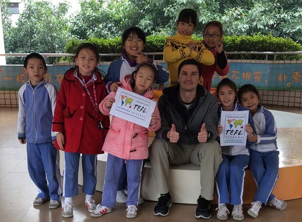 China best job market for teaching English abroad