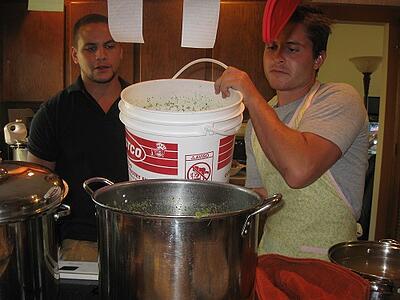 ITA Alumni Jonathan Ogden abroad cooking