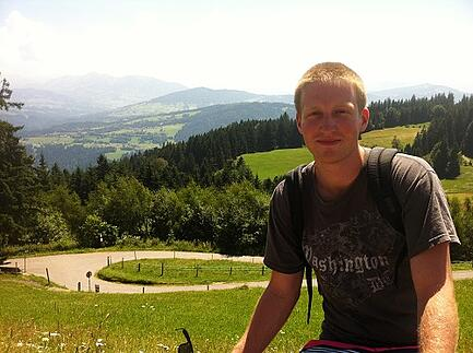 ITA Alumni Michael McGuire teaching in germany