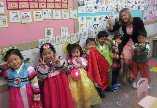 Denise Leinonen in South Korea