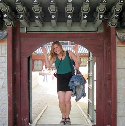Denise Leionen in South Korea