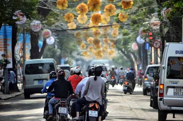 Getting around Ho Chi Minh City, Vietnam